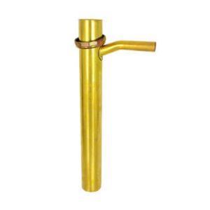 """Brass Dishwasher Tailpiece 5/8"""" Branch"""