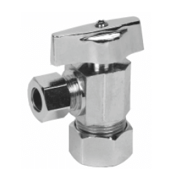 1/4 Turn Angle Stop Valve Straight Handle cxc