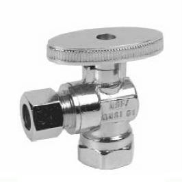1/4 Turn angle stop valve, FIP X C