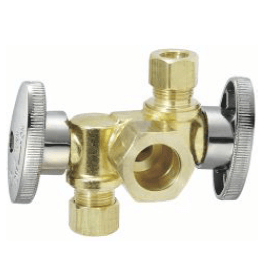 1/4 Turn Dual Outlet Valve cxcxc
