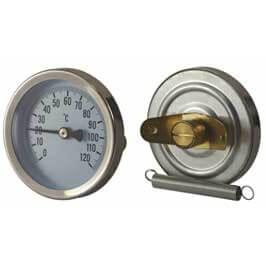 Bi-Metal Clamp On Thermometer