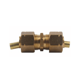 Brass Compression Union with Insert
