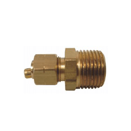 Brass Compression x MIP Adapter with Insert