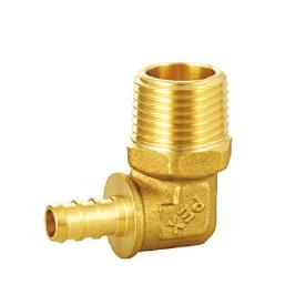 Brass Pex Adapter Elbow