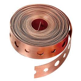 Copper Pipe Strap