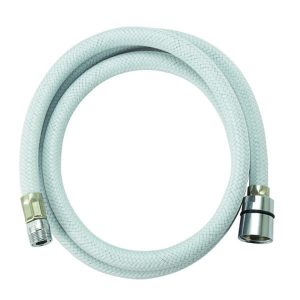 Flexible Nylon Shower Hose white