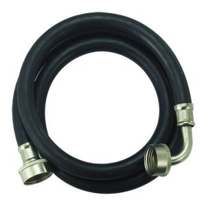 Rubber Reinforced Washing Machine Connector - Elbow connection