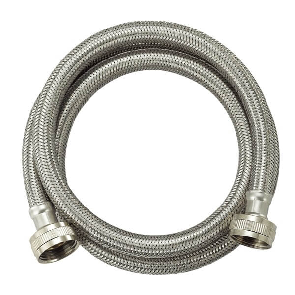 Stainless Steel Washing Machine Connector - 13.5 mm OD