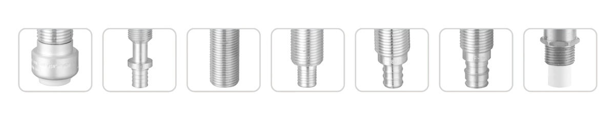Supply valve Inlet Types