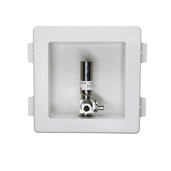 Ice Maker Outlet Box With Valve & Hammer Arrestor